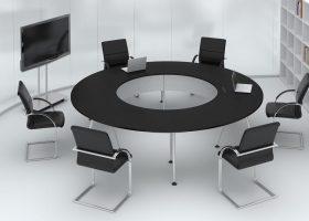 Bàn họp tròn Hòa Phát - Sự lựa chọn tối ưu cho mọi không gian