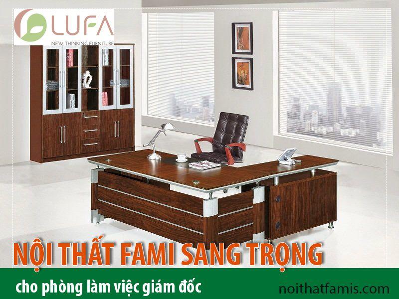 Bàn lãnh đạo thương hiệu Fami