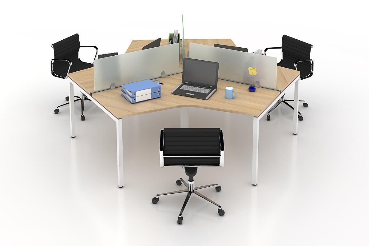Module bàn làm việc dành cho 3 người