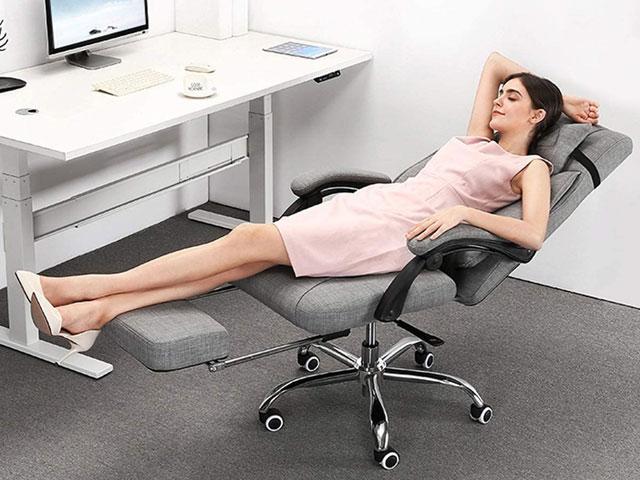 Chức năng ngả lưng tiện lợi giúp người sử dụng có thể nghỉ ngơi bất kì lúc nào
