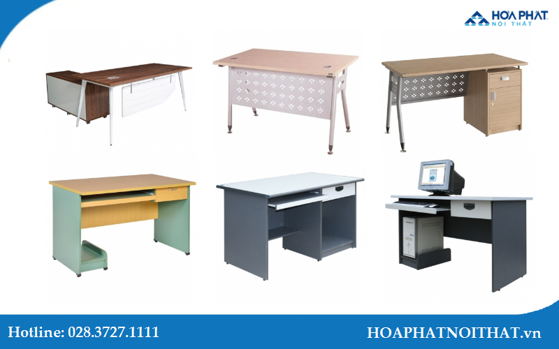 Những mẫu bàn làm việc nhân viên đẹp của Hòa Phát