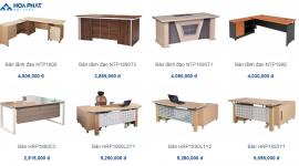 Những mẫu bàn làm việc văn phòng chất lượng hợp túi tiền