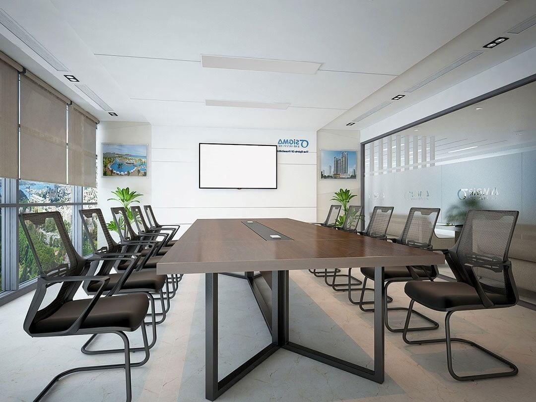 Phòng họp đơn giản, ấn tượng