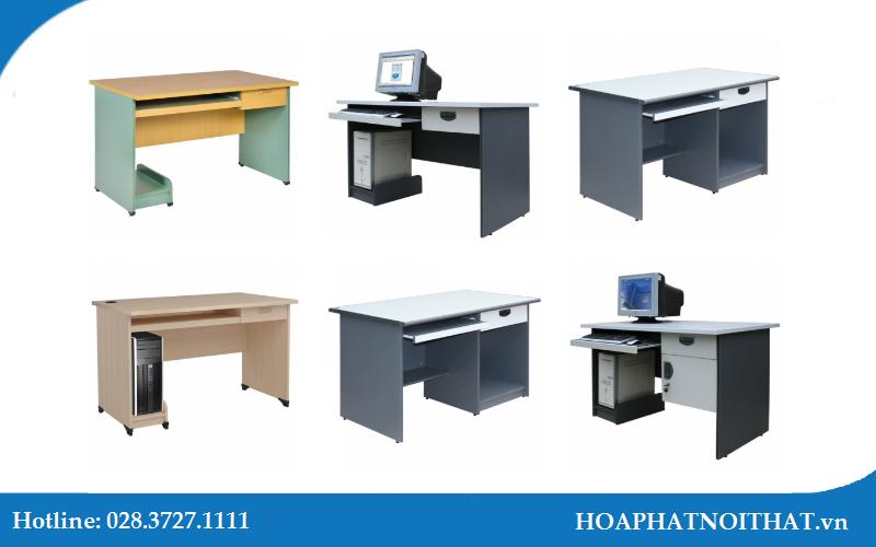 Thiết kế của bàn máy tính hiện đại, mang tính tiện dụng cao