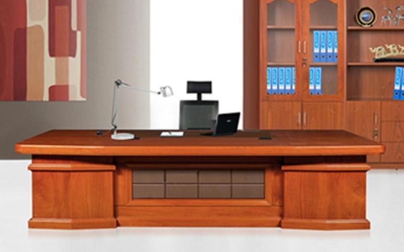 Bộ bàn lãnh đạo gỗ Veneer DT3212VM18