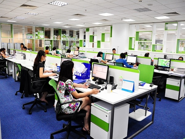 Ghế làm việc cần được sắp xếp sao cho thuận tiện với công việc nhất