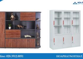 Nên chọn tủ hồ sơ sắt hay gỗ cho phòng giám đốc
