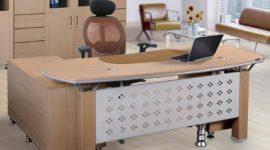 5 mẫu bàn trưởng phòng Hòa Phát có thiết kế sang trọng nhất